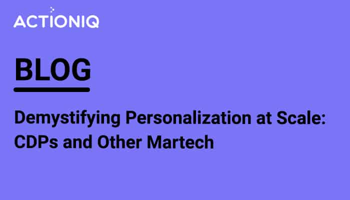 Demystifying Personalization at Scale
