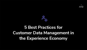 Best practices to manage customer data